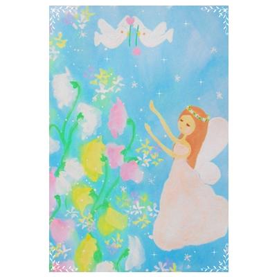 幸せを願う妖精